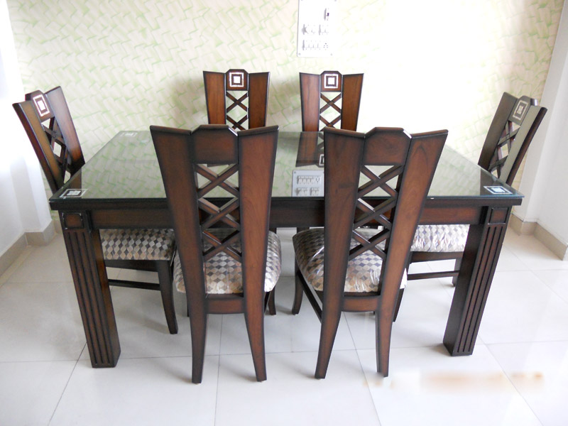 Wooden Dining Set In Kirti Nagar Wooden Furniture Market West Delhi Wooden